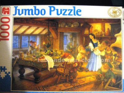 Puzzle 1000 piezas blancanieves y los 7 enanitos