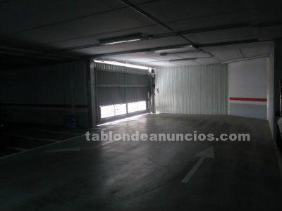 Vendo plaza de garaje en aparcamiento subterraneo