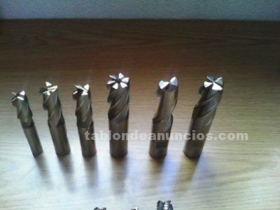 Fresa de 20 mm, carburo de tungteno. Cnc