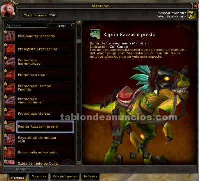 Cuenta wow warlords of draenor(eu)