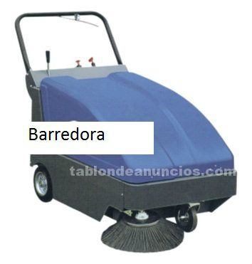 Barredora industrial