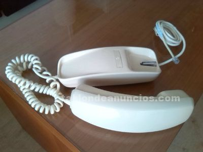 Teléfono Góndola, años 70, marfil, muy buen estado exterior.