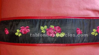 Cinturon floral kenzo vintage