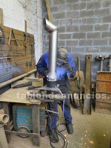 Reparación y construcción tubos escape