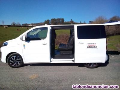 TAXI IGNACIO TUI, servicio 24 horas Taxi 8 plazas/6+1 PMR