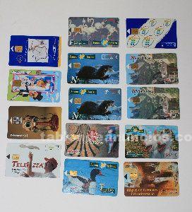 14 tarjetas telef�nicas
