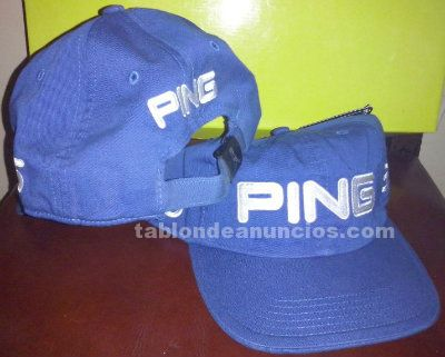 Gorra ping junior azul