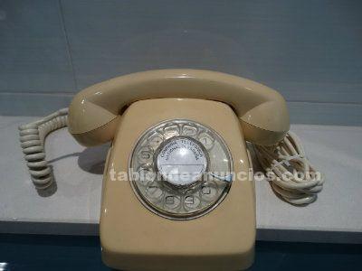 Teléfono Heraldo de rueda color vainilla