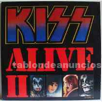 Vendo doble vinilo kiss alive