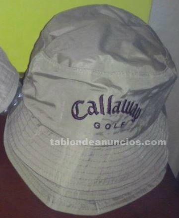 Sombrero bucket de lluvia callaway lady