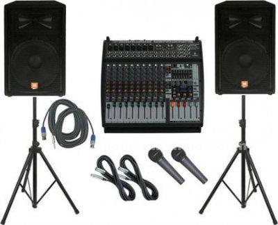 Alquiler de equipos de sonido e iluminación