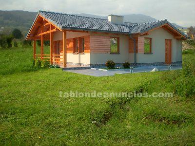 Casa de madera ecologica con parcela