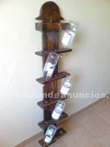 Botellero de 15 botellas vino
