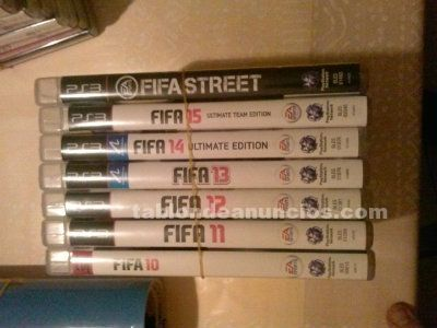 Lote fifa (playstation 3)