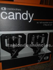 Pedales nuevos cranck brothers candy 3