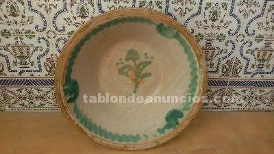 Vendo lebrillo antiguo de ceramica granadina