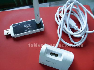 Adaptador wireless lan usb snt 1015 de sveon