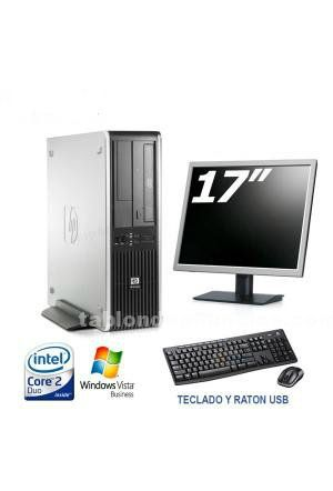 Hp dc7900 sff core 2 duo 3.00 ghz 8 gb ram con tft 17