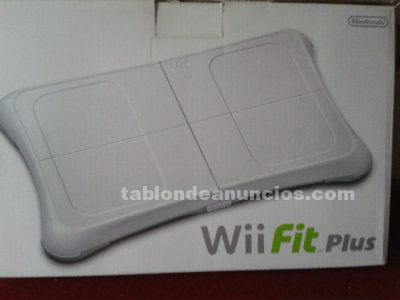 Tabla wii fit plus + juego