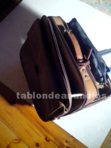 Cartera documentos en piel