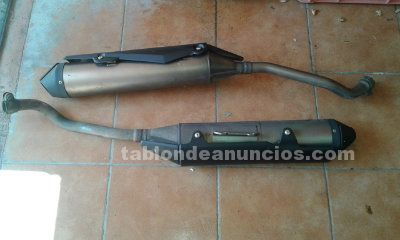 Escapes originales yamaha 660r xt 2007