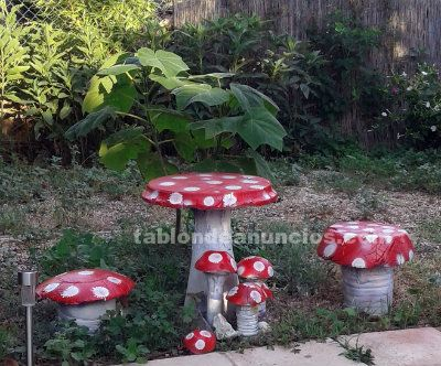 Decoraciones especiales de jardin