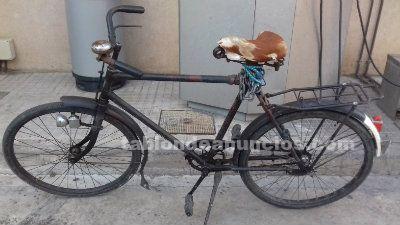 Bicicleta antigua del ejercito suizo
