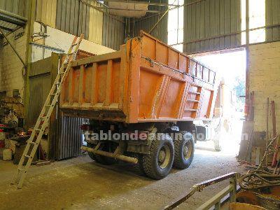 Reparación de cajas camiones volquetes