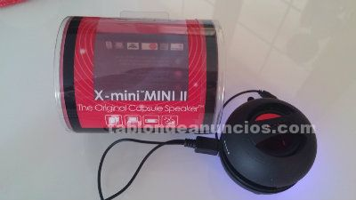 X-mini ii black - altavoz portátil de 2w color negro