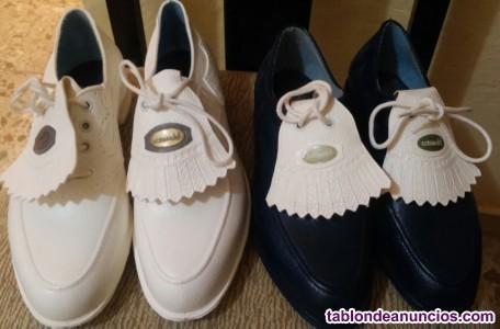 Zapatos de golf sra. Cotswold lytham clavos