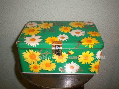 Caja de cola cao (edición flores amarilla)