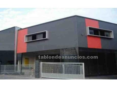 Nave industrial ocasion antes