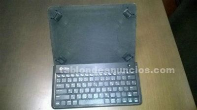 Funda con teclado bluetooth para tablets 9-10 - e-vitta keytab advancce