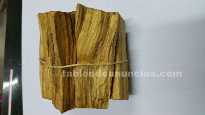 Incienso natural palo santo