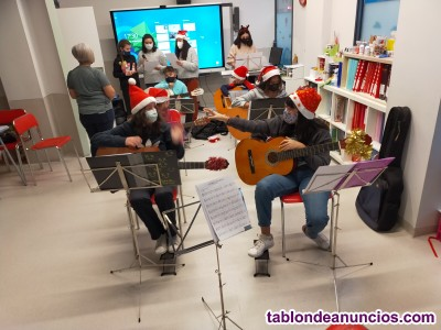Mundo world academy guitarra
