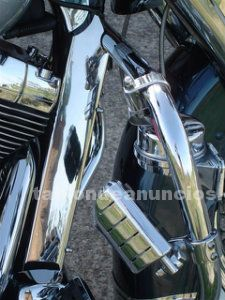 Tapa bastidor inox road king