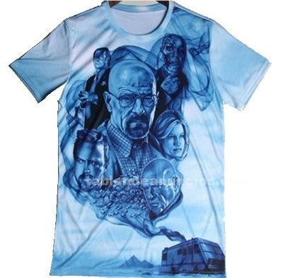 Camiseta de breaking bad