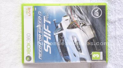 Juego xbox 360 need for speed shift