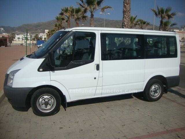 Ford transit 9 plazas ano 2009