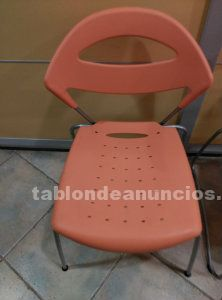 Venta sillas color naranja