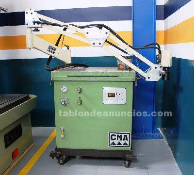 Roscadora hidraulica cma rh20