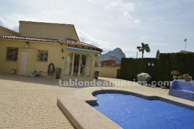 Hermoso chalet calpe, urb ortembach