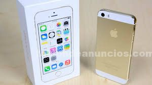 Iphone 5s gold 16 gb libre (solo 300 eu)
