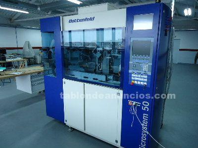 Inyectora plastico battenfeld microsystem 50