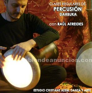 Clases regulares de percusion, darbuka, madrid