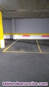 Plaza de garage en alquiler pinto madrid.