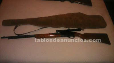 Rifle y escopeta