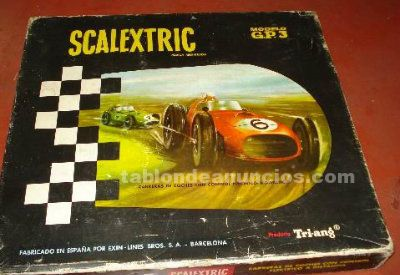 Scalextric años 60