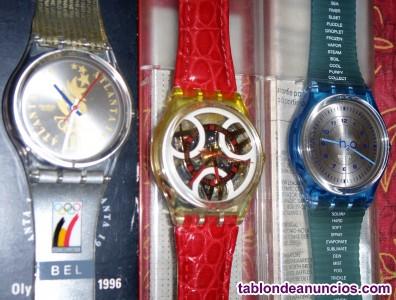 Pulseras y relojes swatch