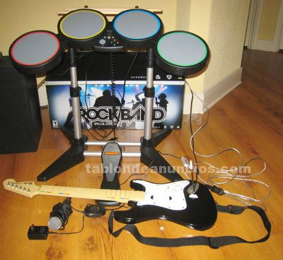 Pack rock band para playstation 2